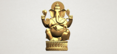 Ganesha 01 3D Model