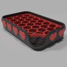 Heart soap dish  3D Print Model