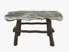 Table of juniper 3D Model