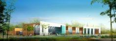 School building 083 3D Model
