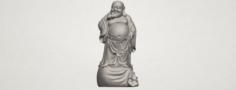 Metteyya Buddha 08 3D Model