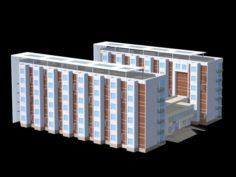 School building 118 3D Model