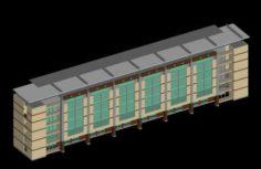 School building 120 3D Model