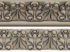 Cornice CNC 3D Model