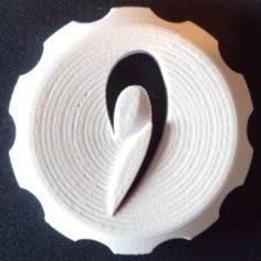 STRATOMAKER Coin Mascot 3D Print Model