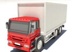 3D MODEL TRUCK 3D Model