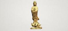Avalokitesvara Buddha – Standing 05 3D Model