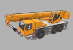 Liebherr LTM 1060 3D Model
