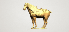 Horse 04 3D Model