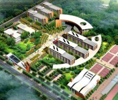 School building 098 3D Model