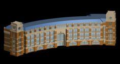 School building 142 3D Model