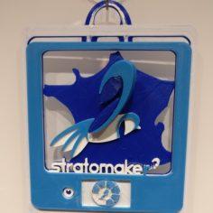 Stratomaker mascot logo 3D Print Model