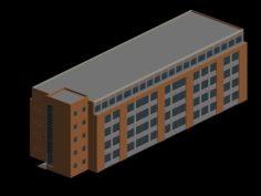 School building 146 3D Model