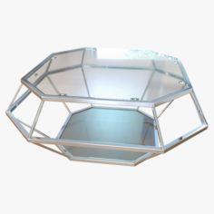 Coffee Table Diamanto Lareto 3D Model