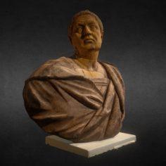 Bust of the Speaker Q. Hortensius Hortalus Free 3D Model