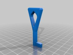 Key for electrical fuse cabinet 3D Print Model