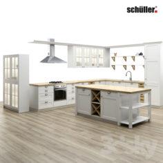 SCHULLER KITCHEN                                      Free 3D Model