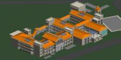 School building 115 3D Model