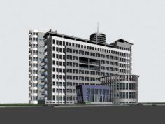 School building 116 3D Model