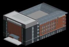 School building 022 3D Model