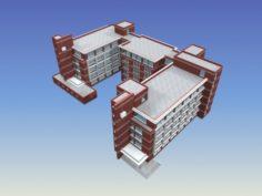 School building 102 3D Model