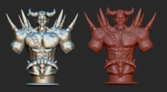 Demon for print 3D Model