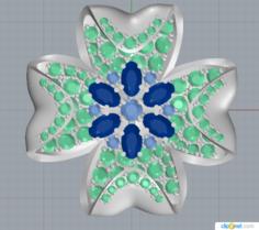 Jewelry flower 3D Model