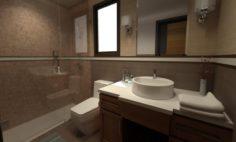 Bathroom 03 3D Model