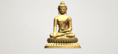 Thai Buddha 03 3D Model