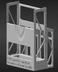 Cigarette holder 3D Model