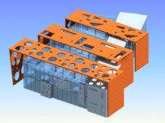 School building 051 3D Model