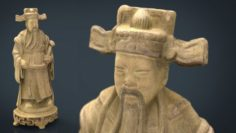 Ancient Chinese Sculpture 3D Model