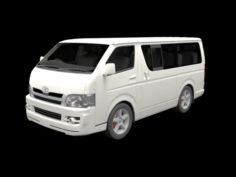 Toyota HiAce 3D Model