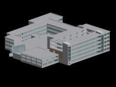 School building 147 3D Model