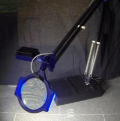 Desk Lamp Magnify glass 3D Model