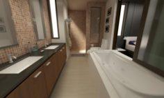 Bathroom 04 3D Model