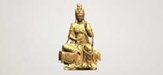 Avalokitesvara Buddha 02 3D Model