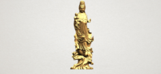 Avalokitesvara Buddha award kid 01 3D Model