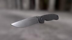 Ontario RAT model 1 knife low poly 3D Model