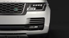 Range Rover Vogue SE LWB L405 2018 3D Model