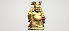 Metteyya Buddha 05 3D Model
