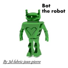 Bot the robot 3D Print Model