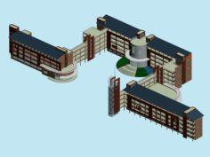 School building 154 3D Model