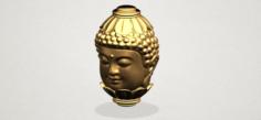 Buddha – Head Sculpture 3D Model