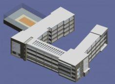 School building 135 3D Model