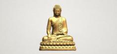 Thai Buddha 02 3D Model