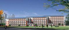 School building 067 3D Model