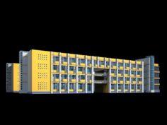 School building 137 3D Model