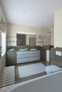 Nice Bathroom with SAUNA 3D Model