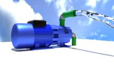 WaterPump Free 3D Model